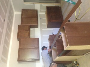 Incomplete Kitchen Cabinets